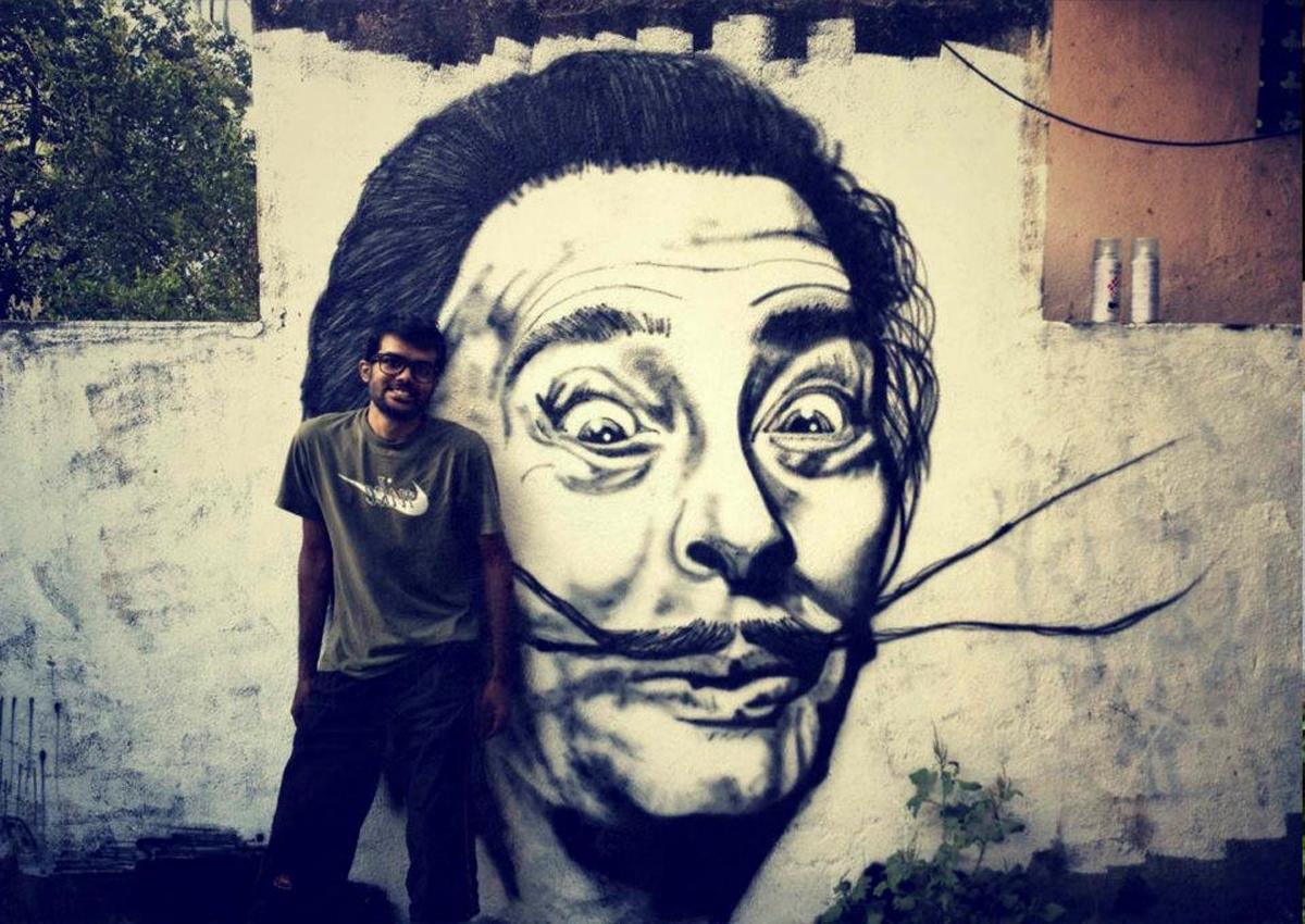 Wall Art Decor Ideas: Mural Streetart Salvador Dali Wall Art Within Well Known Salvador Dali Wall Art (View 13 of 15)