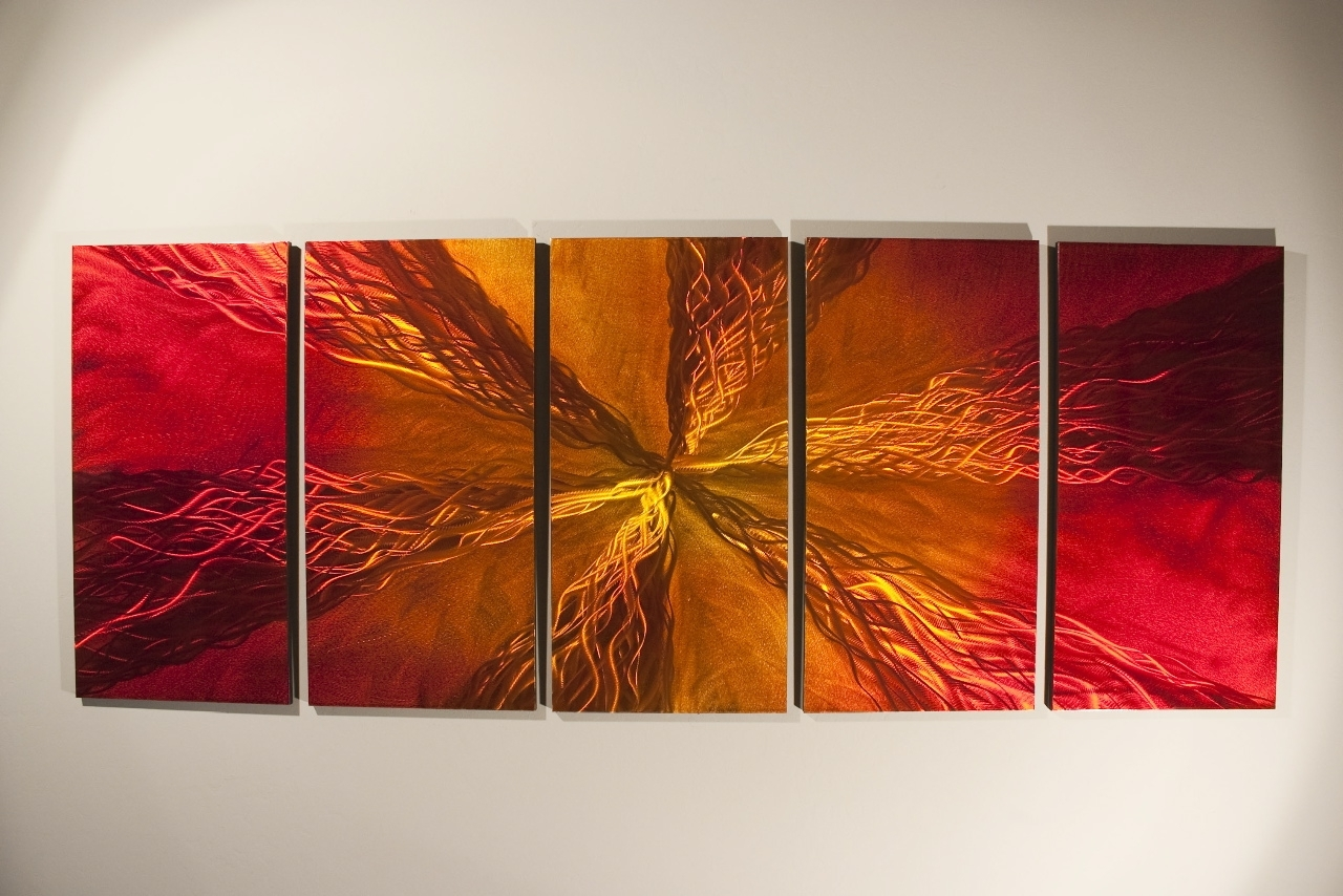 Wall Art Decor: Ryno Fabrication Abstract Wall Art Modern Free Pertaining To Widely Used Abstract Wall Art (View 4 of 15)