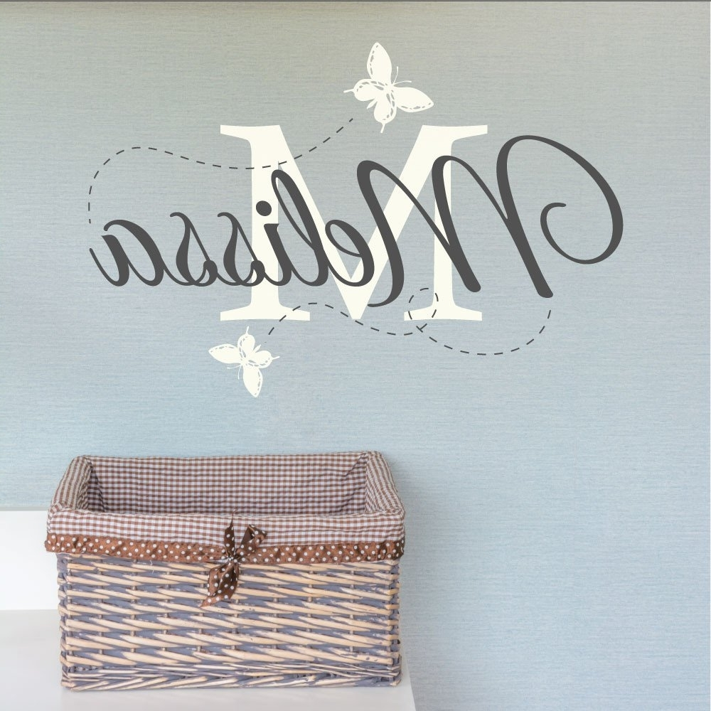 Wall Art Design Ideas: Melisa Childrens Name Wall Art For Nursery In 2017 Personalized Nursery Wall Art (View 14 of 15)