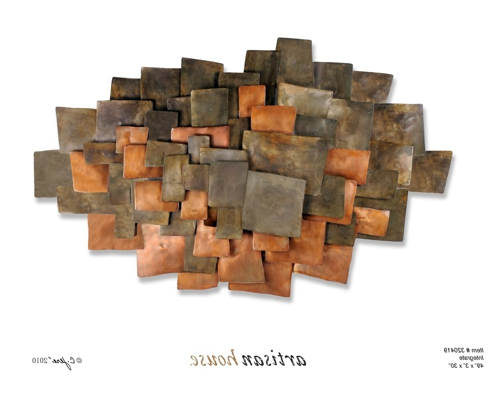Wall Art Designs: Copper Wall Art Abstract Copper Wall Art Home Within Well Known Abstract Copper Wall Art (View 15 of 15)