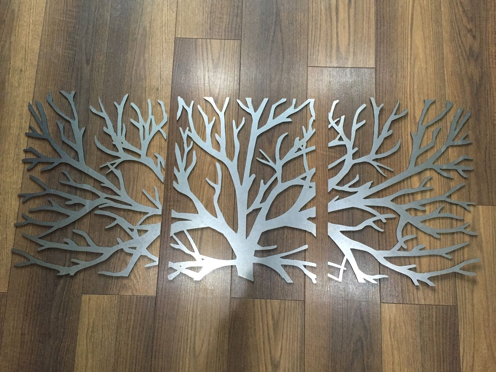 Wall Art Designs: Metal Wall Art Decor And Sculptures Wooden Metal With Regard To Fashionable 3D Tree Wall Art (View 14 of 15)