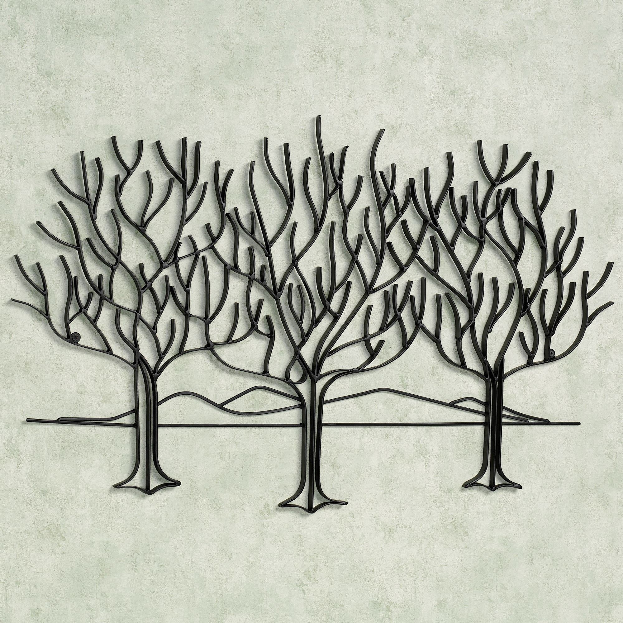 Wall Art Designs: Metal Wall Art Trees Black Metal Wall Art Olive For Latest Metal Wall Art Trees And Branches (View 10 of 15)