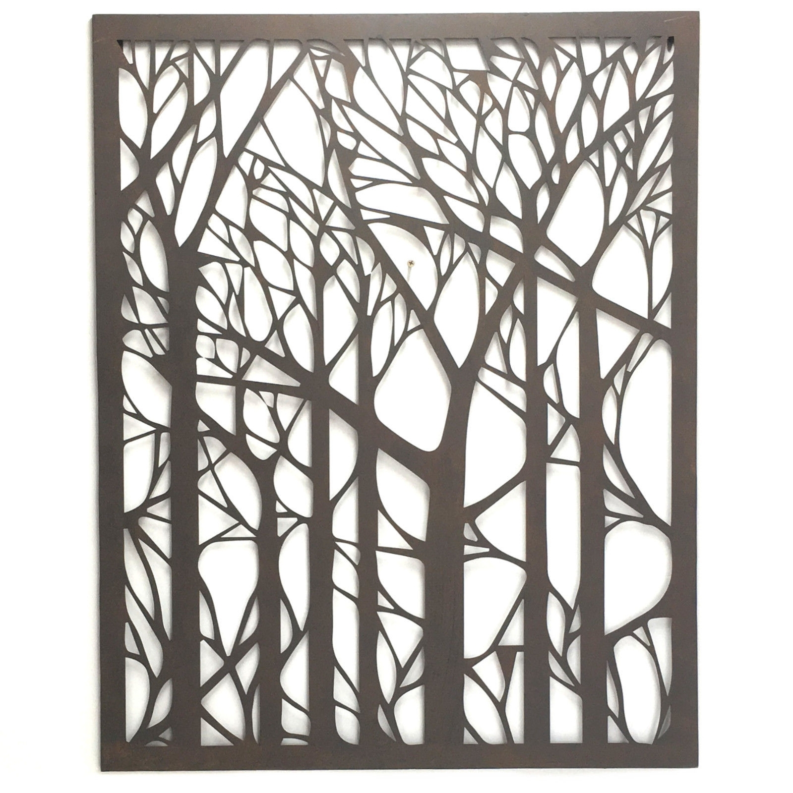 Wall Art Designs: Outdoor Wall Art Metal Tree Metal Wall Art For Most Up To Date Metal Large Outdoor Wall Art (View 12 of 15)