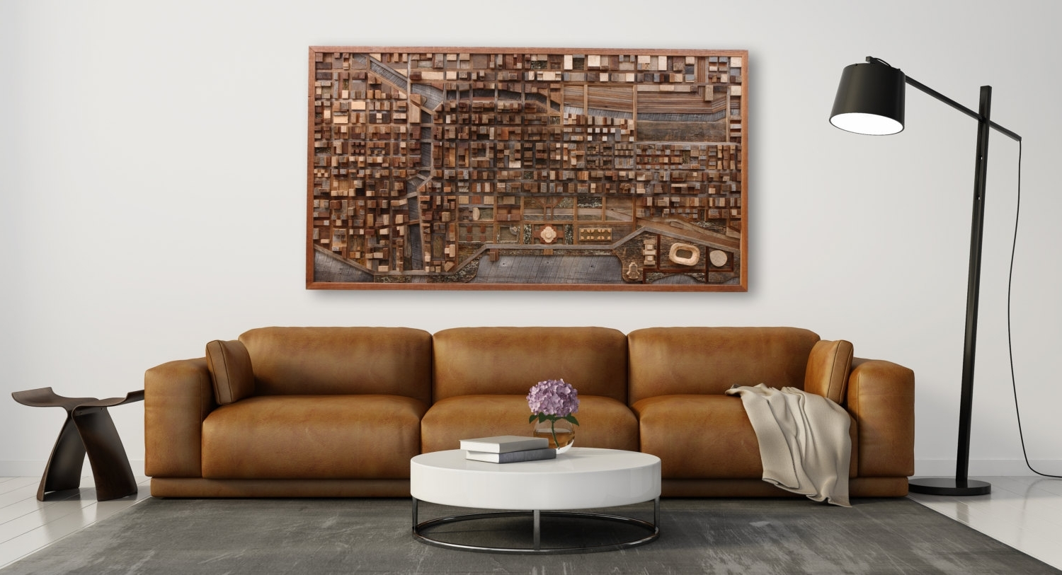 Wall Art Designs: Personalized Wood Wall Art Reclaimed Wood Wall For Popular Industrial Wall Art (View 11 of 15)