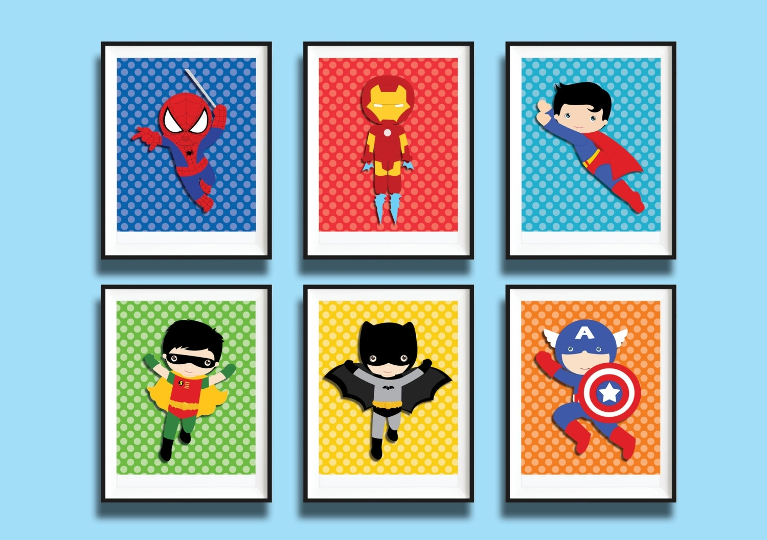 Wall Art Designs: Superhero Wall Art Superhero Wall Art Printables Pertaining To Newest Superhero Wall Art For Kids (View 15 of 15)