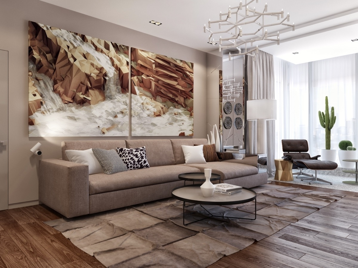 Wall Art For Living Room For Best And Newest Large Wall Art Decor For Living Room : Ideas Of Wall Art Decor For (View 8 of 15)