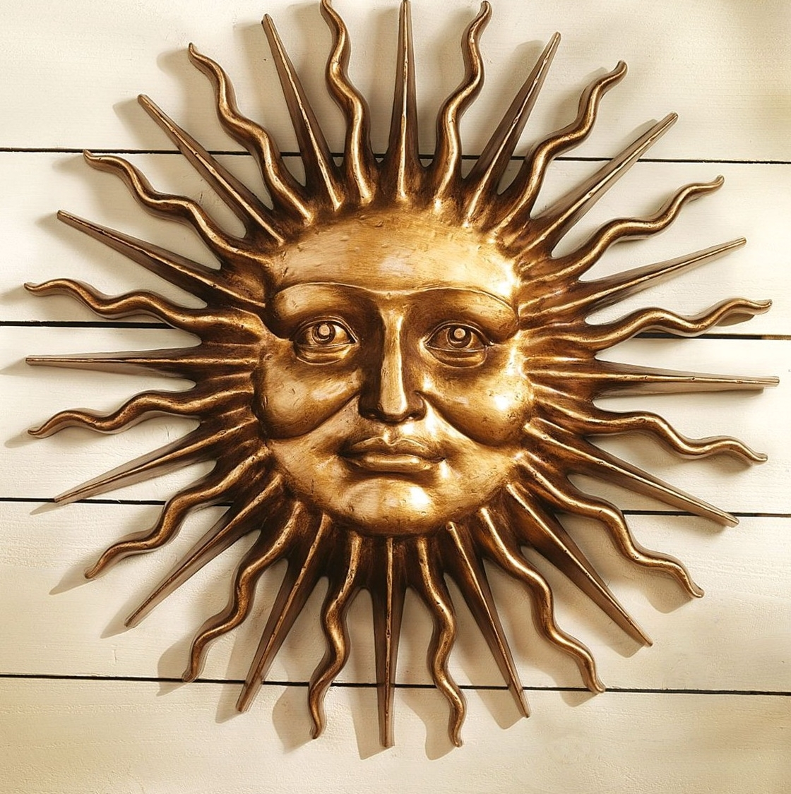 Wall Art Ideas Design : Greek Mythology Metal Sun Wall Art Regarding Current Large Metal Sun Wall Art (View 14 of 15)