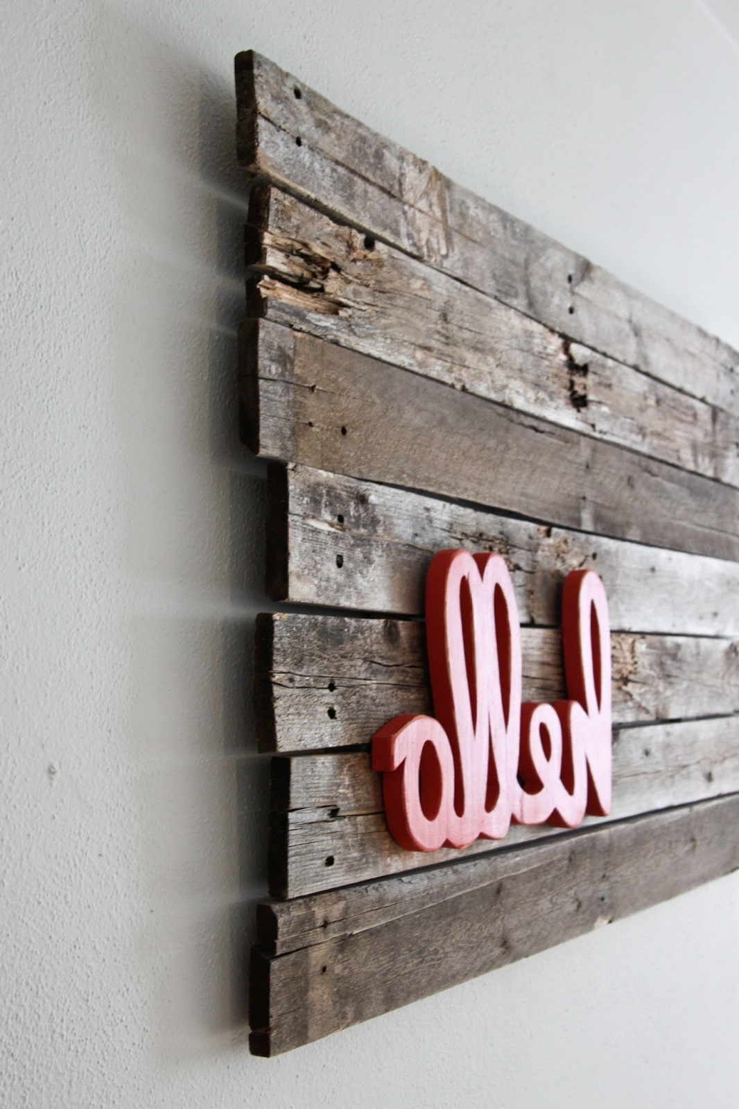 Wall Art Ideas Design : Painted Framed Wood Word Wall Art Hanging For Most Popular Wood Word Wall Art (View 14 of 15)