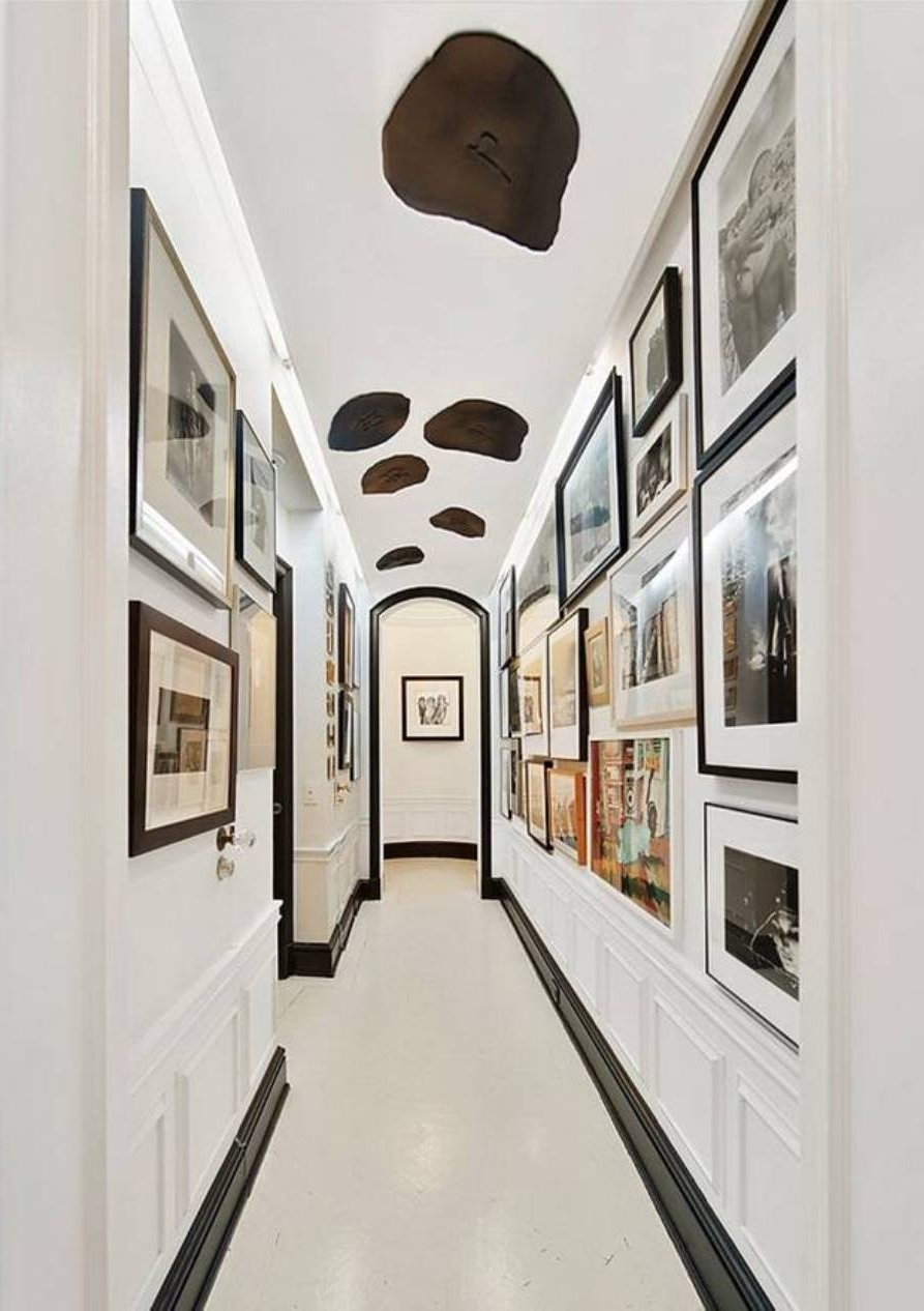 Wall Art Ideas For Hallways Pertaining To Well Liked Framed Gallery Hallway Wall Art Ideas Beautiful Trends And For (View 12 of 15)