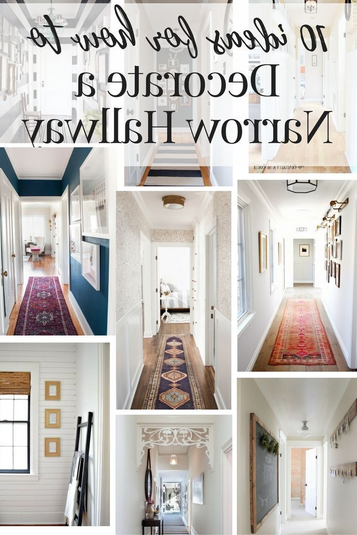 Wall Art Ideas For Hallways Throughout Current Best 25+ Narrow Hallway Decorating Ideas On Pinterest (View 14 of 15)