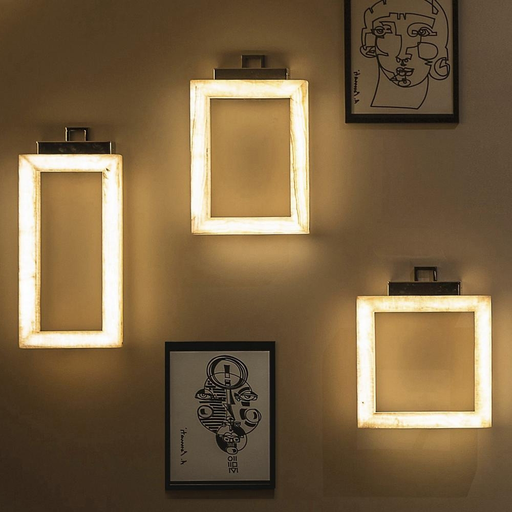 Wall Art Lighting Pertaining To Most Current Behind The Design: Lighting That Doubles As Art At Lumens (View 9 of 15)