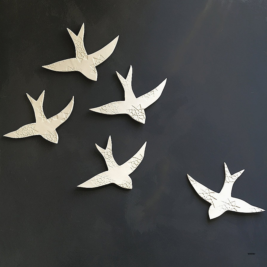 Featured Photo of Ceramic Bird Wall Art