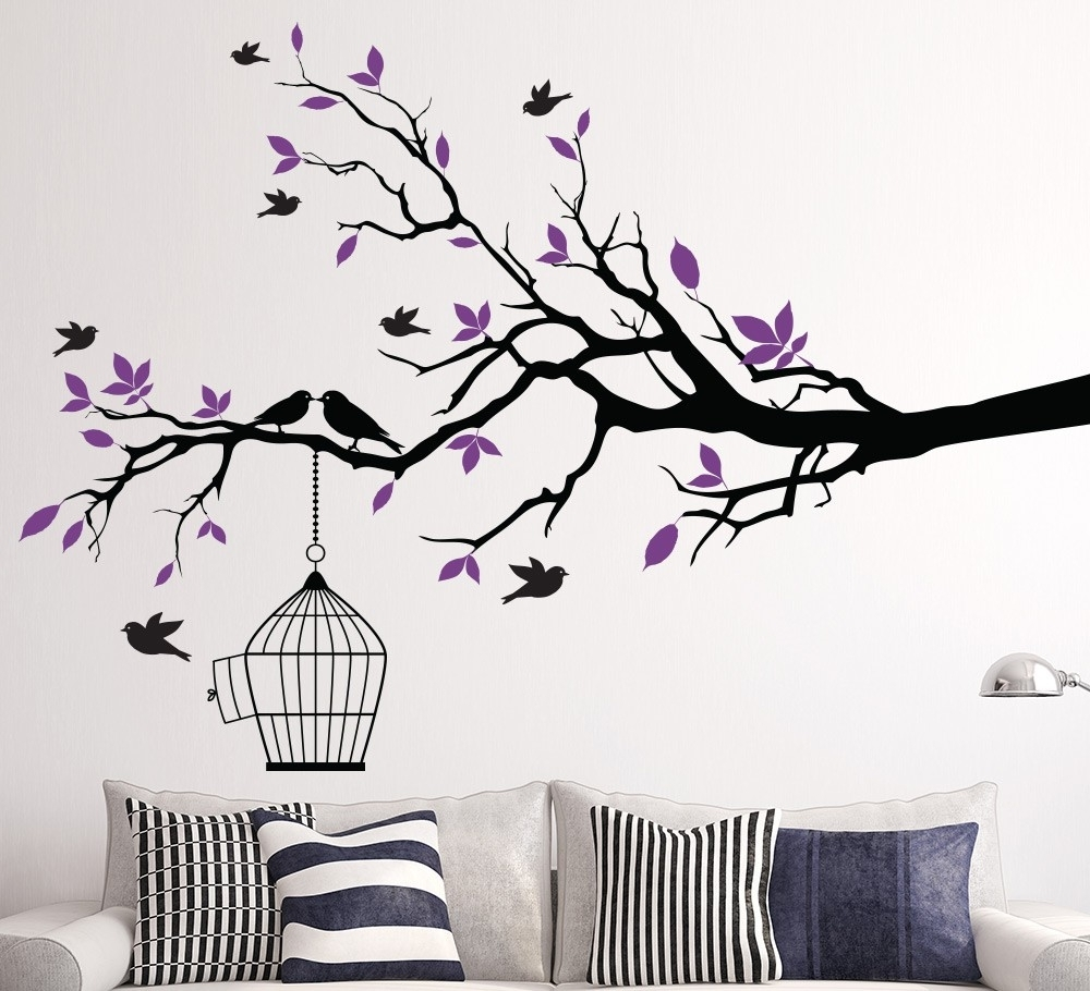 Wall Art: Marvelouse Design About Wall Art Tree Tree Wall Art With Regard To Most Recent Tree Branch Wall Art (View 14 of 15)
