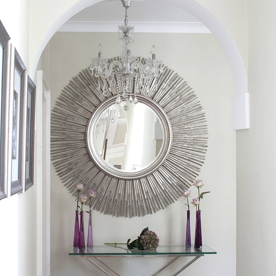 Wall Art Mirrors Contemporary Regarding Well Known Elegant Decorative Wall Mirror (View 5 of 15)