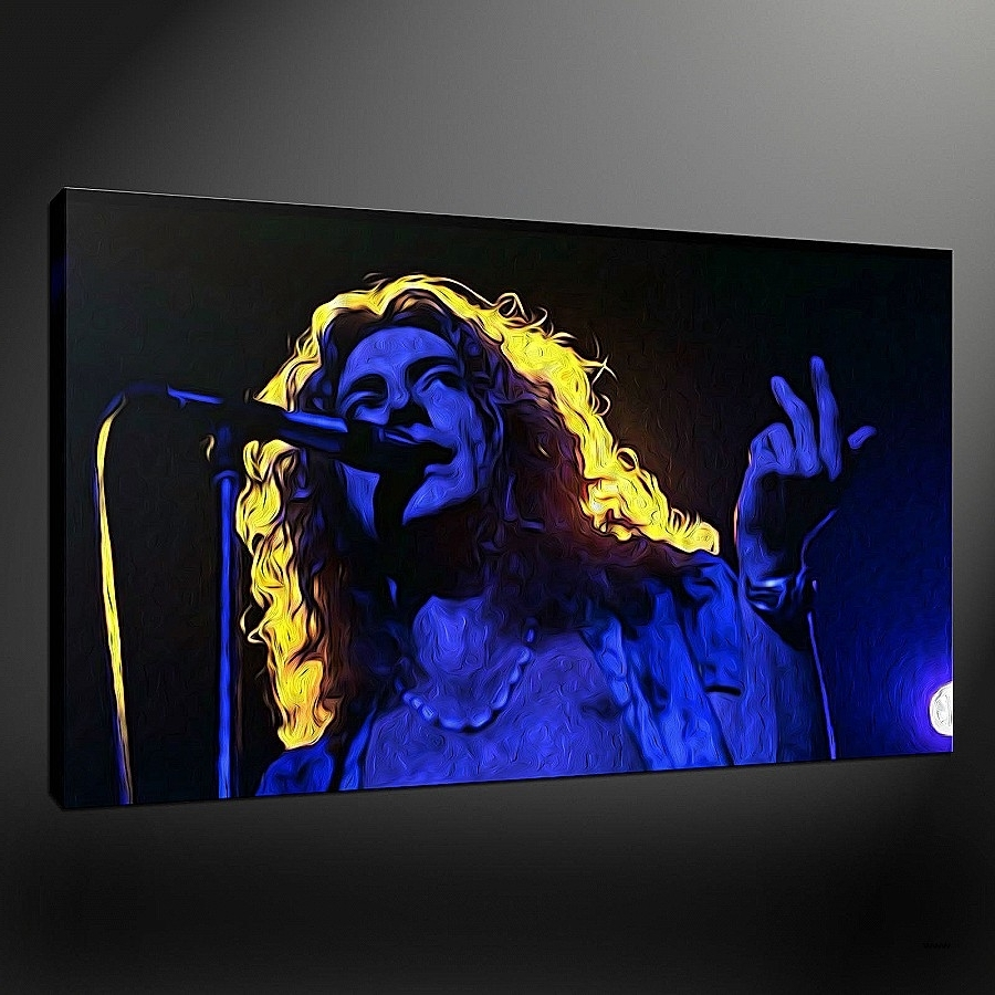 Wall Art New Backlit Wall Art Hd Wallpaper Photos ~ Fireartforum Regarding Well Known Led Zeppelin Wall Art (View 14 of 15)