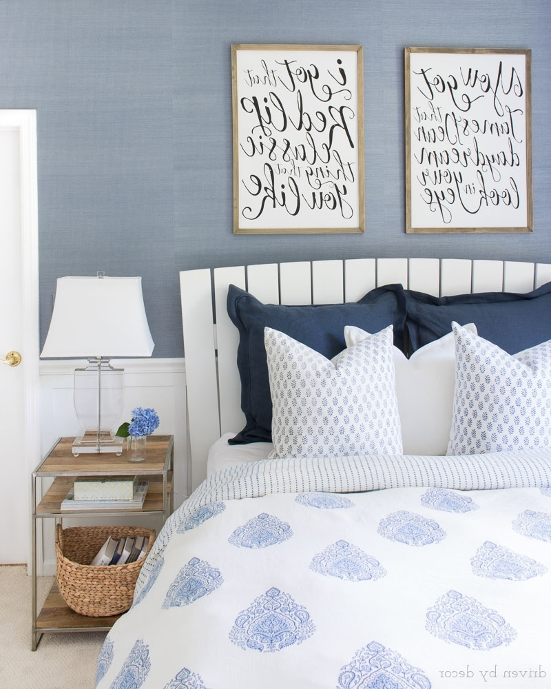 Wall Art Over Bed With 2017 How To Hang Artwork: Must Have Tips! (View 11 of 15)