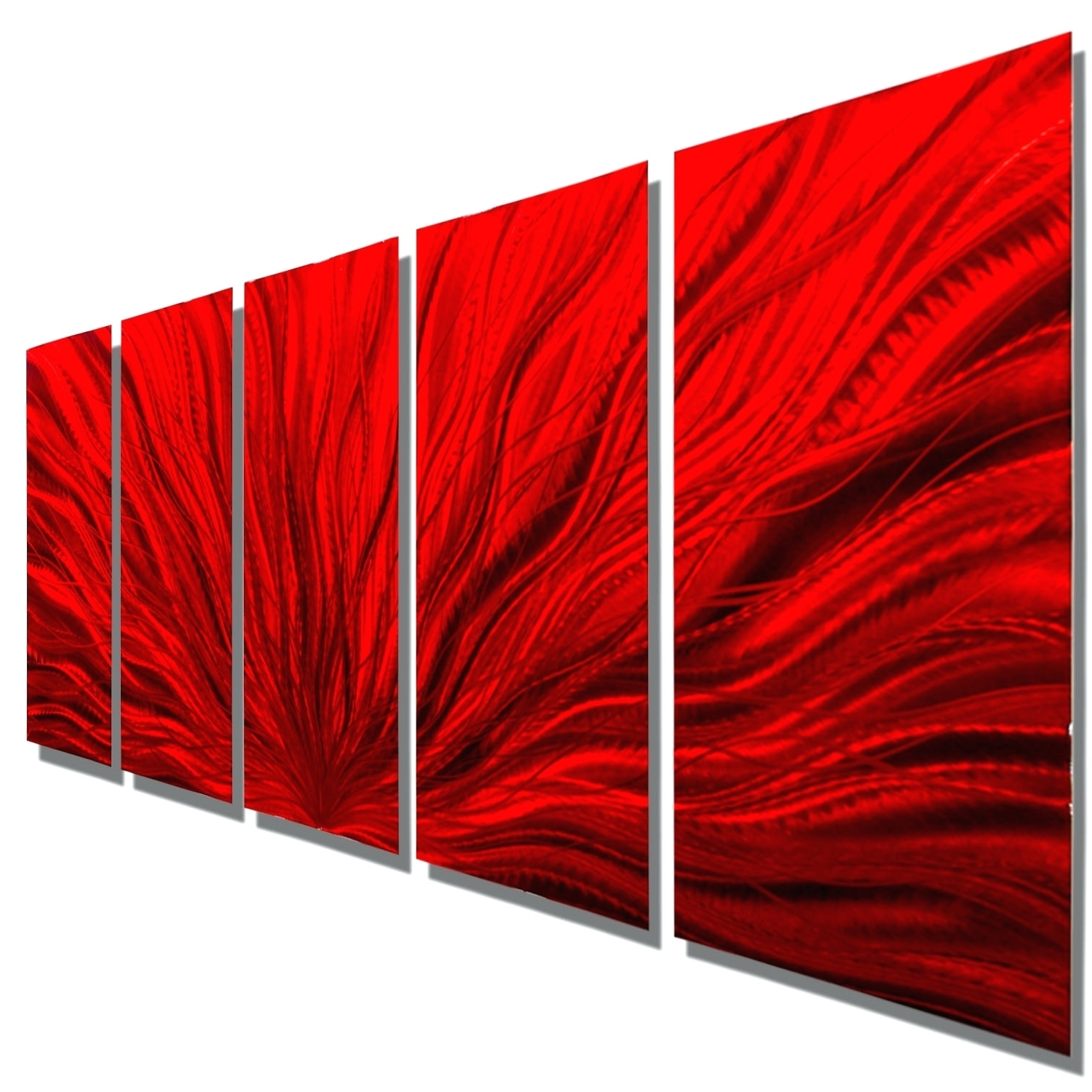 Wall Arts ~ 9 Panel Metal Wall Art 5 Panel Metal Wall Art Galactic Pertaining To Trendy Ash Carl Metal Wall Art (View 15 of 15)