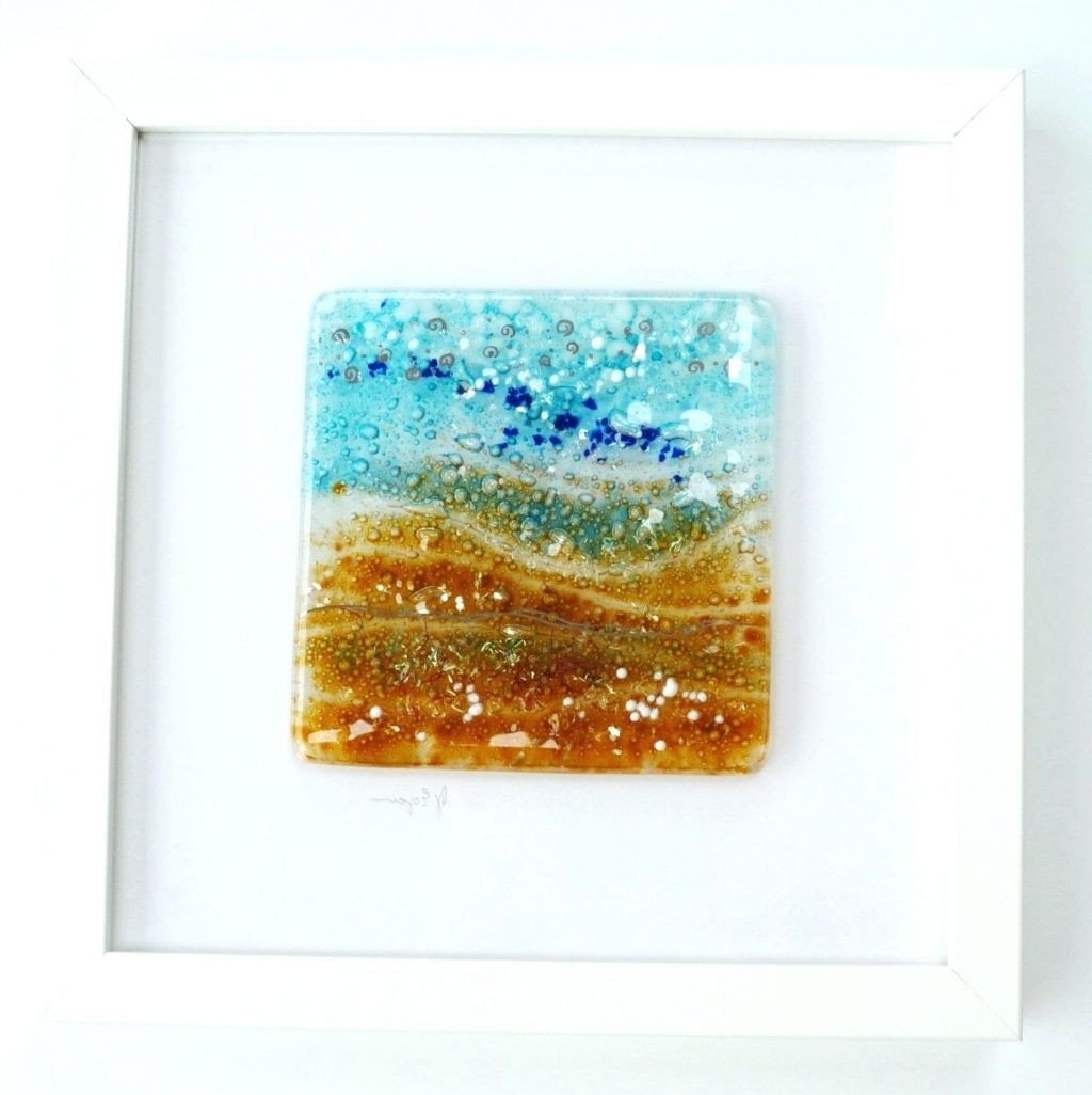 Wall Arts ~ Blown Glass Wall Decor Fused Glass Wall Art Artwork In Most Recent Abstract Fused Glass Wall Art (View 10 of 15)
