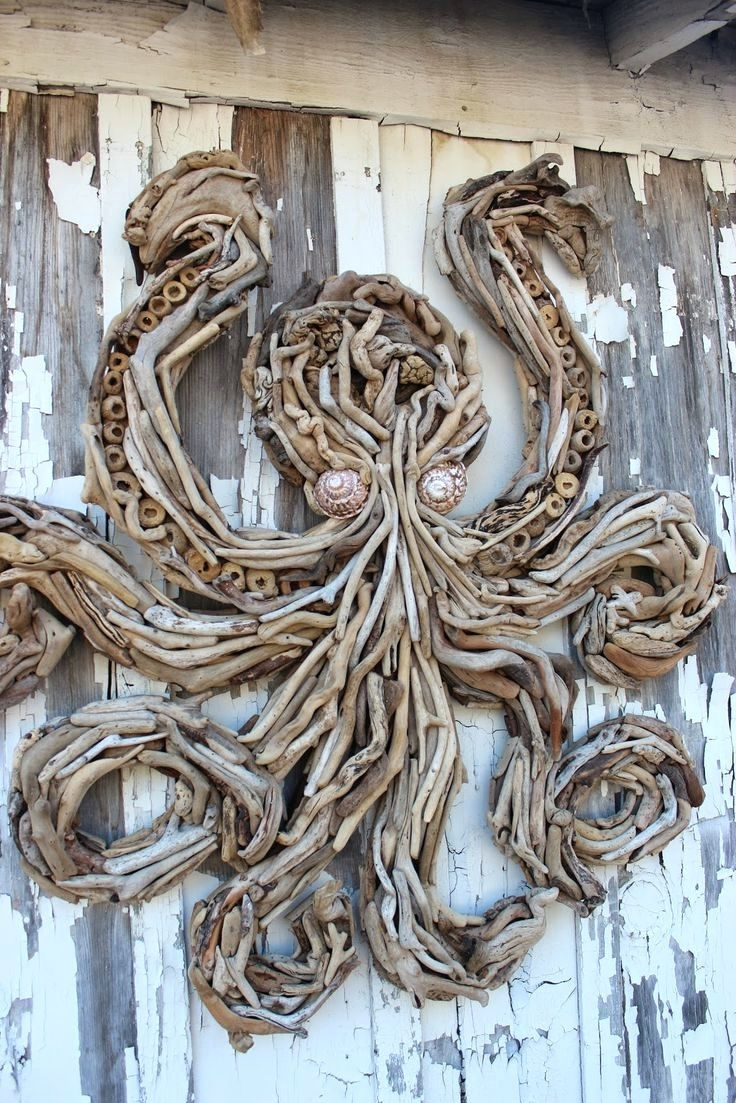 Wall Arts ~ Driftwood Wall Art Driftwood Heart Wall Art Driftwood For Popular Driftwood Heart Wall Art (View 13 of 15)
