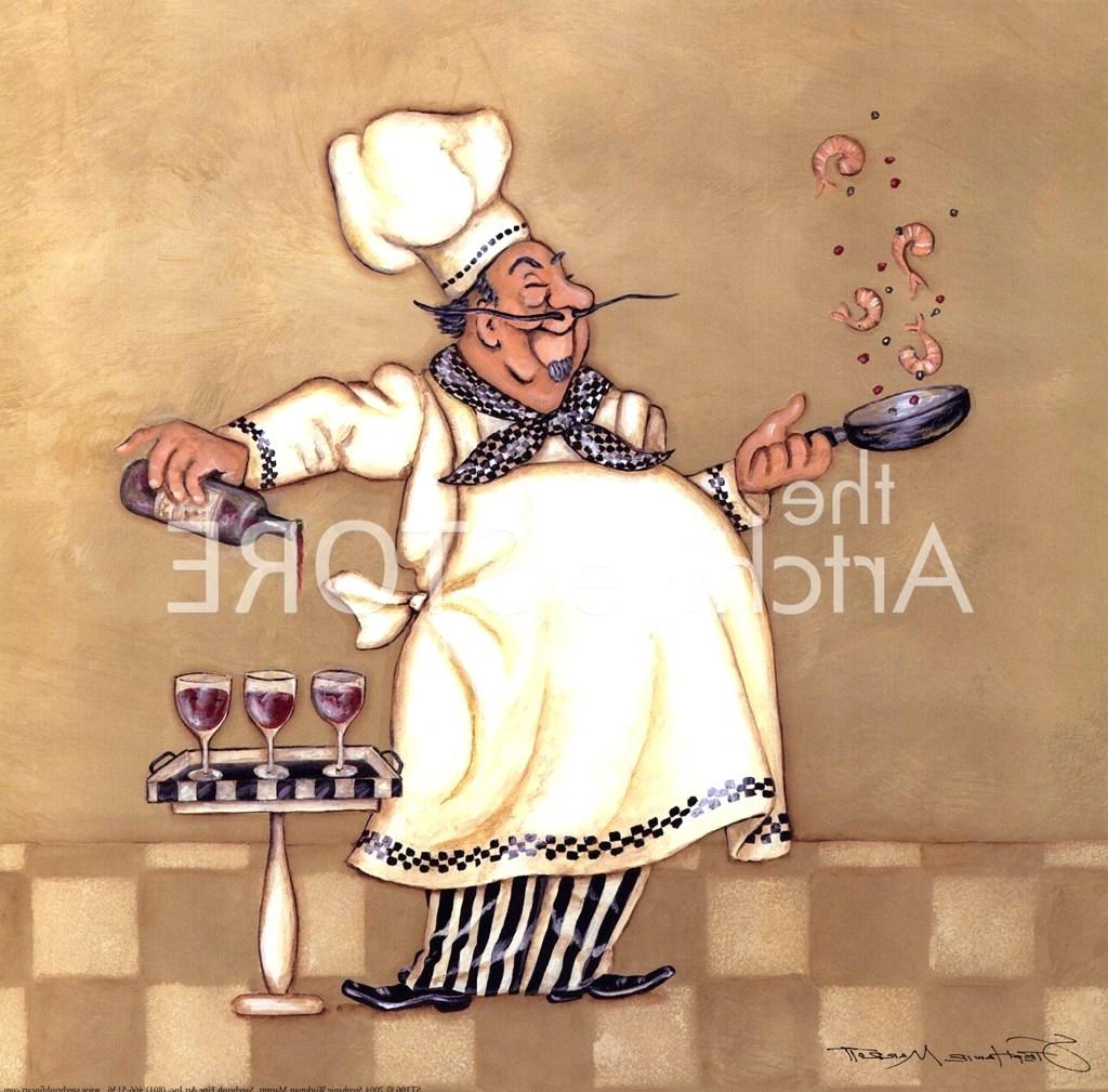 Wall Arts: Fat Chef Wall Art. Fat Chef Wall Art (View 5 of 15)