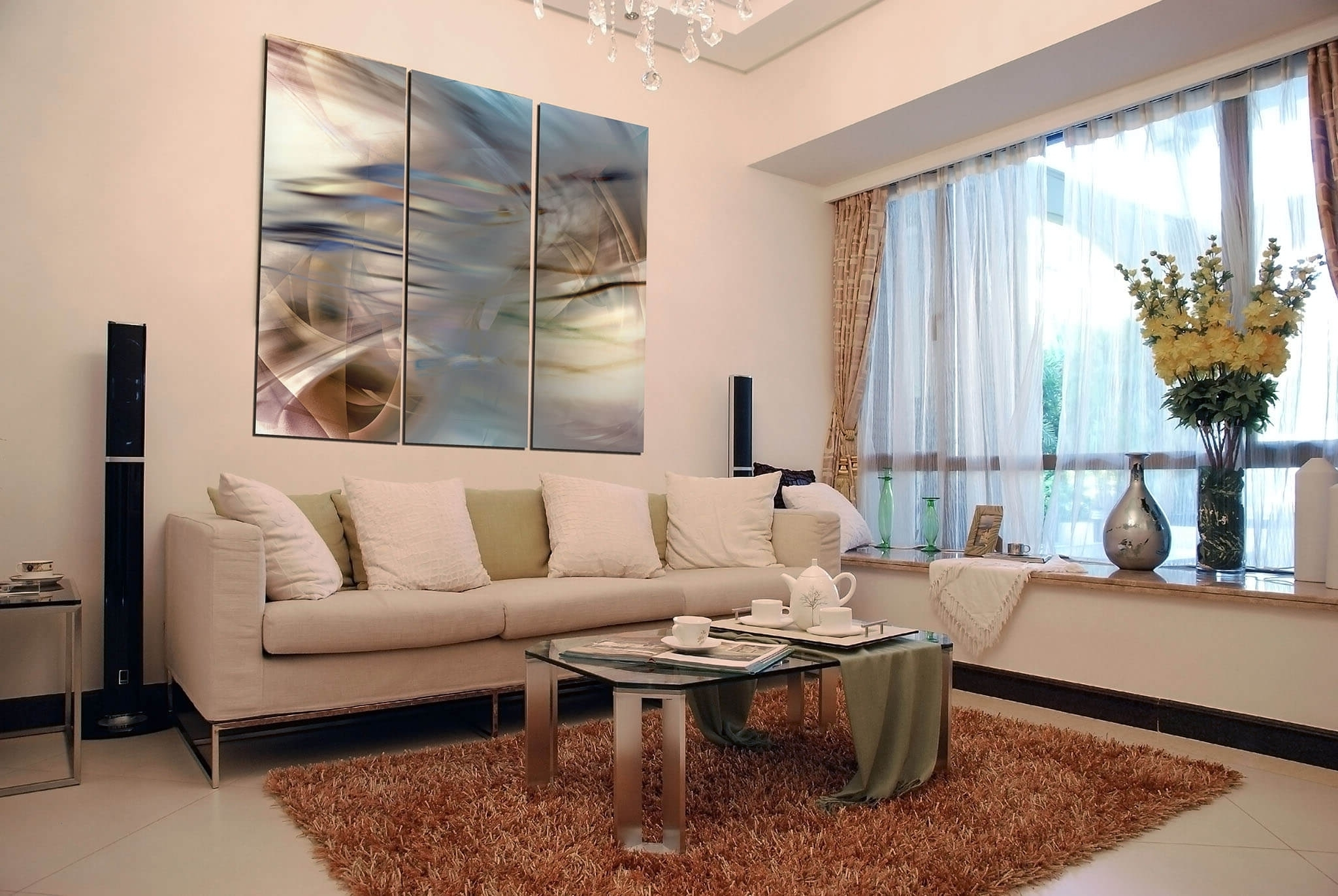 Wall Arts For Living Room Throughout Trendy Wall Art And Decor For Living Room • Walls Decor (View 14 of 15)