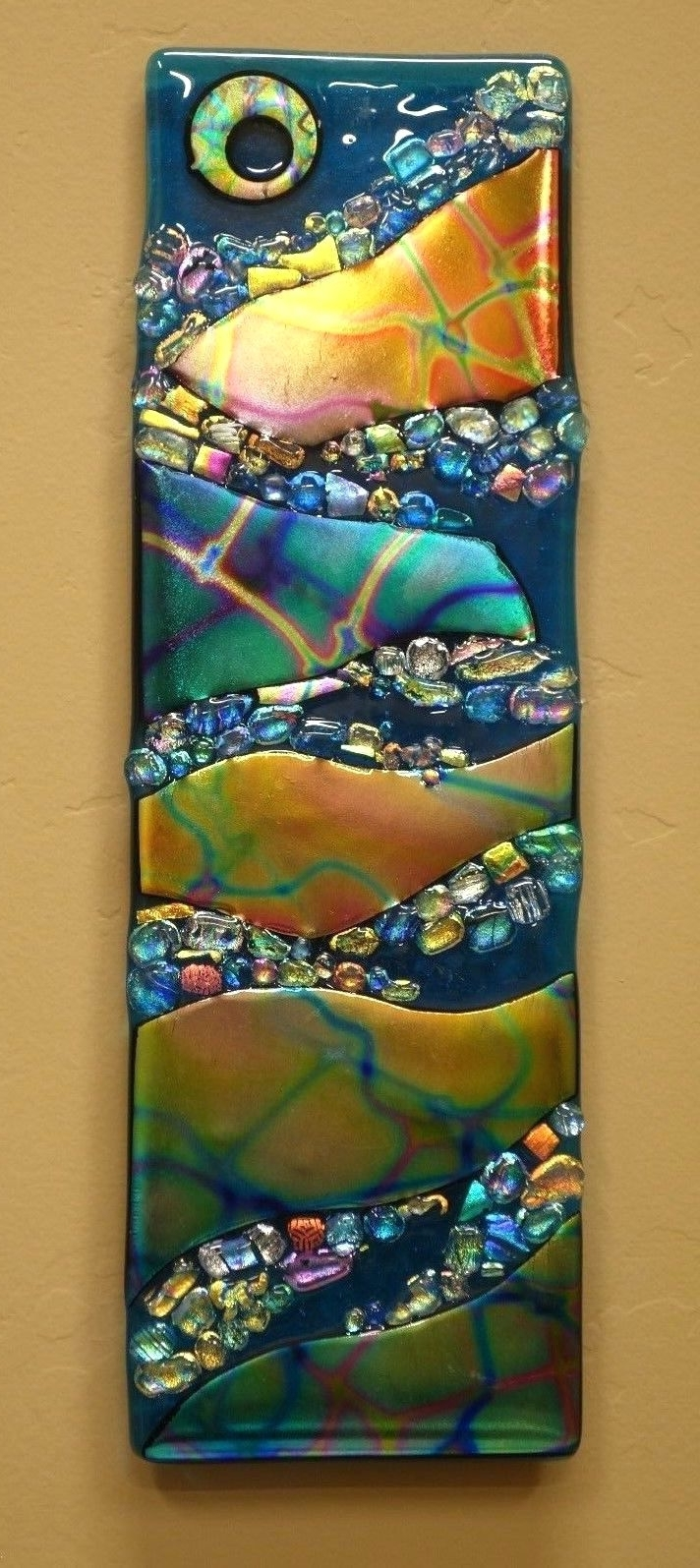 Wall Arts ~ Glass Wall Hangings Wall Art Fused Glass Wall Hanging With Fashionable Fused Glass Wall Art By Frank Thompson (View 13 of 15)