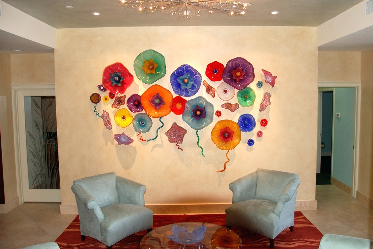 Fantastic Glass Art Wall Hangings Embellishment - The Wall Art ...