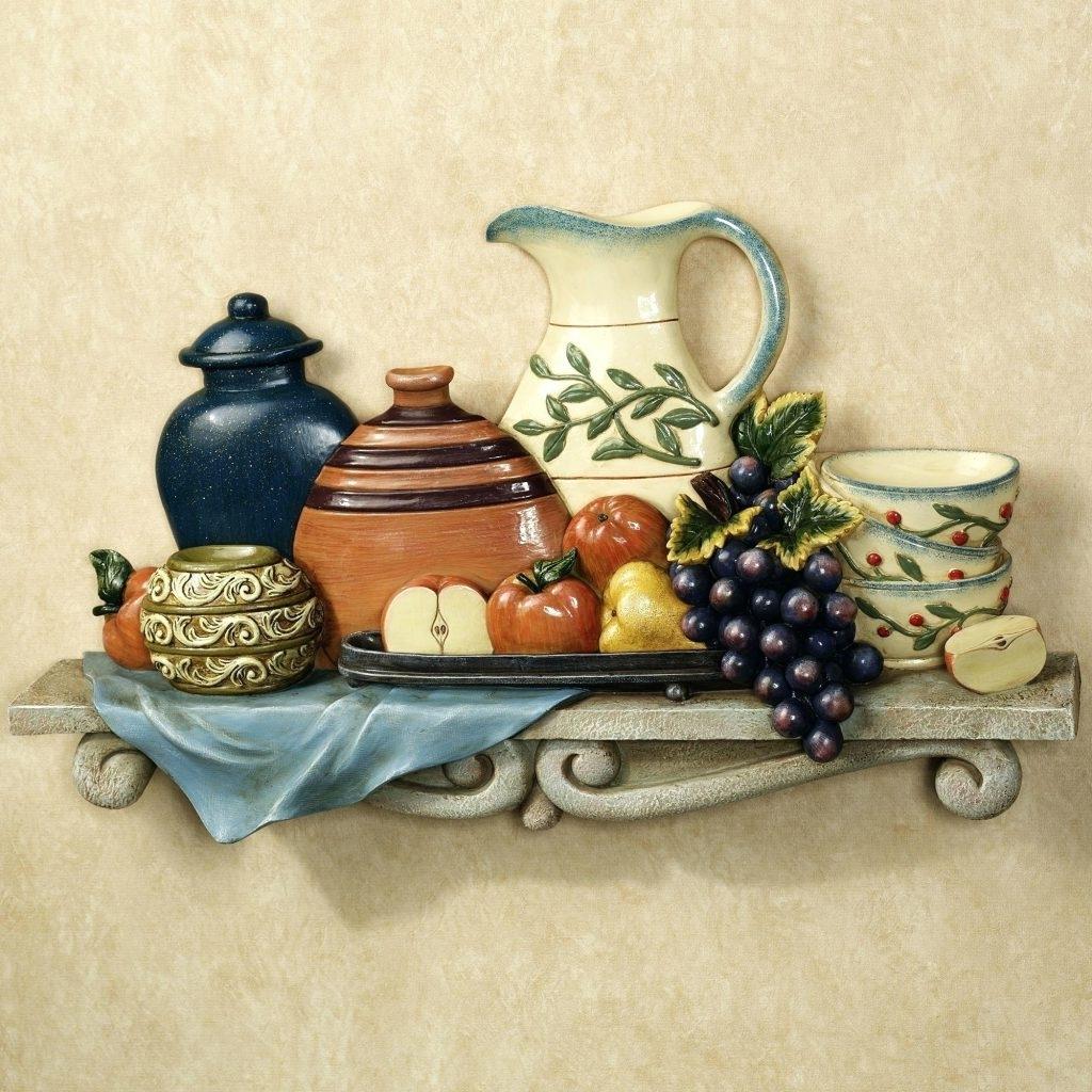 Wall Arts ~ Italian Ceramic Wall Art Italian Ceramic Outdoor Wall Throughout Fashionable Italian Ceramic Outdoor Wall Art (View 10 of 15)