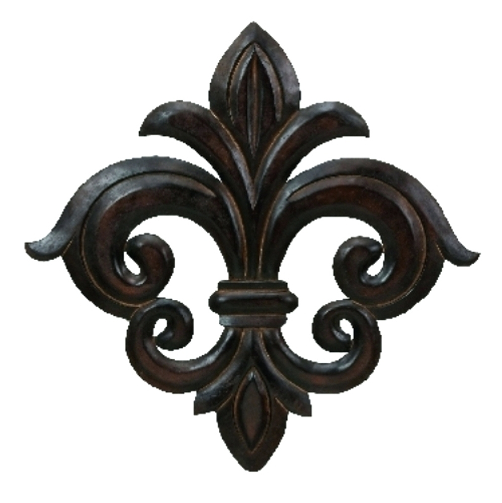 Wall Arts ~ Large Metal Fleur De Lis Wall Art Fleur De Lis Home With Regard To Most Recently Released Metal Fleur De Lis Wall Art (View 14 of 15)