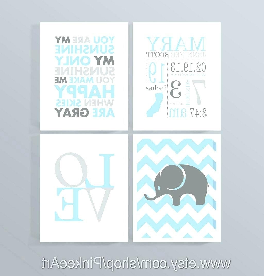 Wall Arts ~ Nautical Nursery Canvas Wall Art Childrens Canvas Wall For Current Nursery Canvas Art (View 14 of 15)