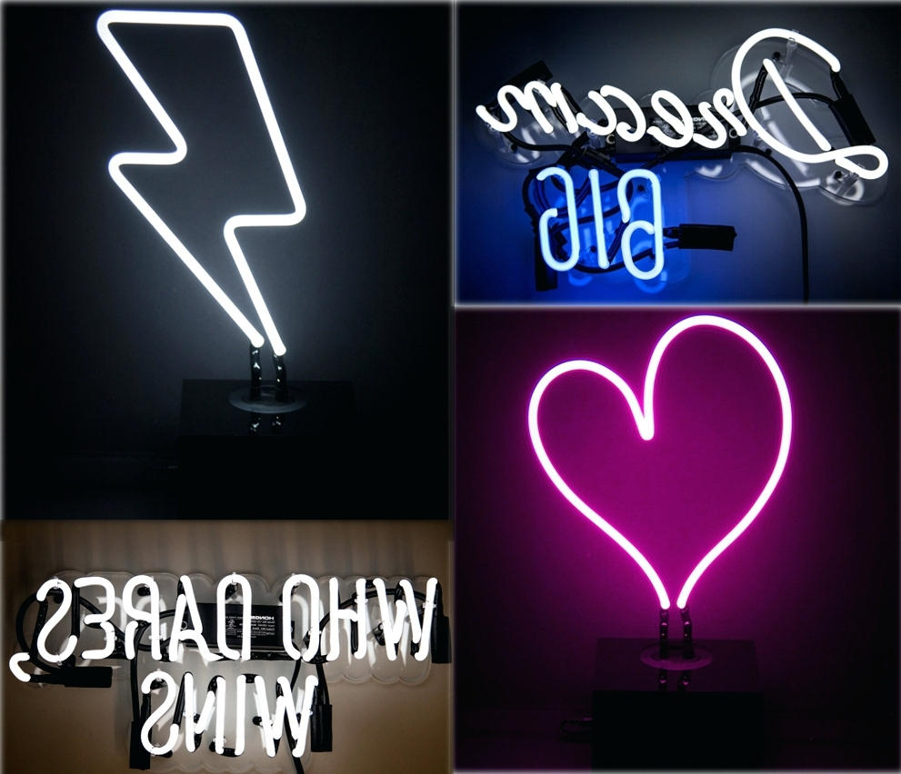 Wall Arts ~ Neon Wall Art Melbourne Neon Mfg Signs Neon Wall Art Pertaining To 2018 Neon Wall Art Uk (View 15 of 15)