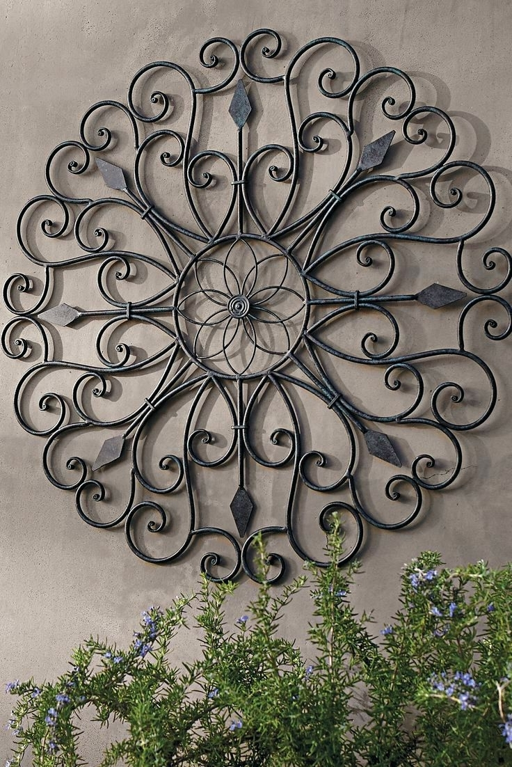 Wall Arts ~ Outdoor Metal Wall Art Decor Metal Wall Art Decor Throughout 2018 Metal Wall Art Outdoor Use (View 14 of 15)
