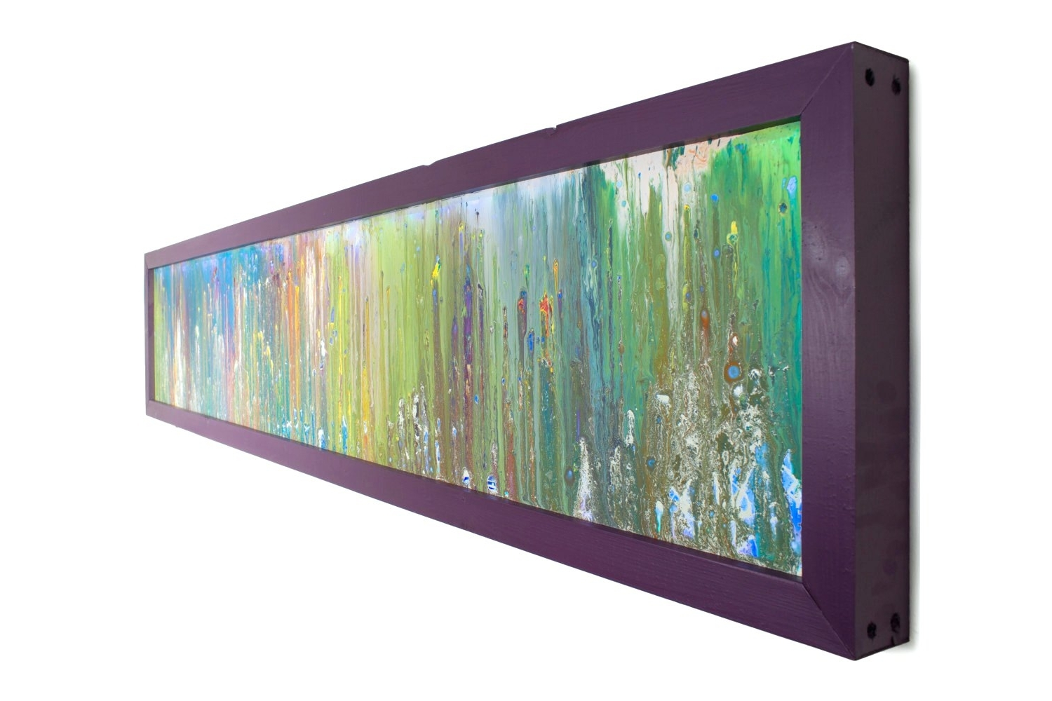 2018 best of large fused glass wall art for Large glass wall