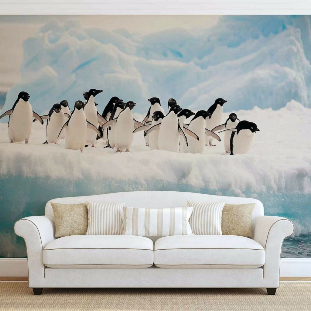 Wall Arts ~ Penguins Wallpaper Mural Penguin Wall Art Penguin Book Regarding Fashionable Penguin Books Wall Art (View 11 of 15)
