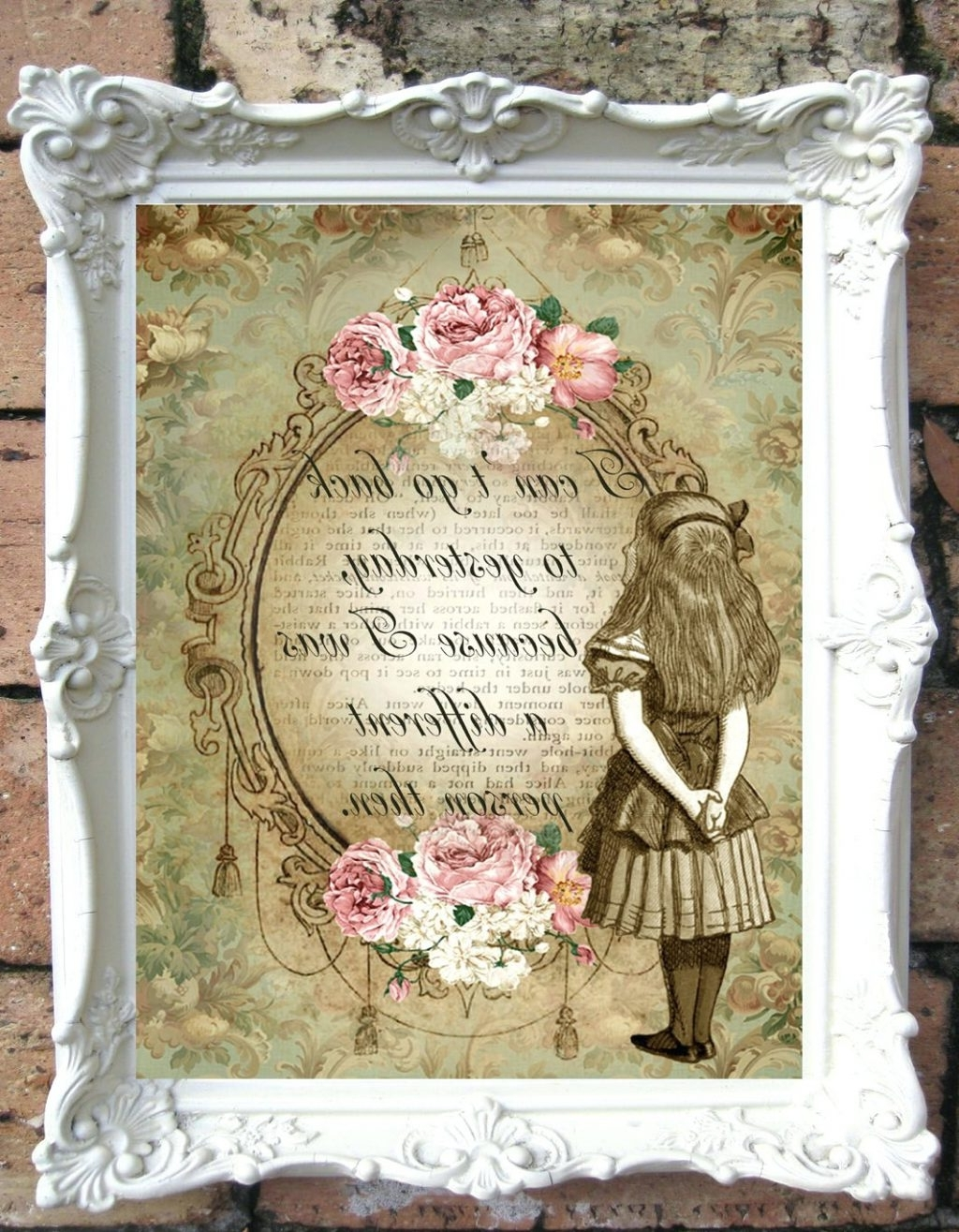 Wall Arts ~ Shabby Chic Canvas Wall Art Uk Shabby Chic Wall Art For Popular Shabby Chic Canvas Wall Art (View 7 of 15)