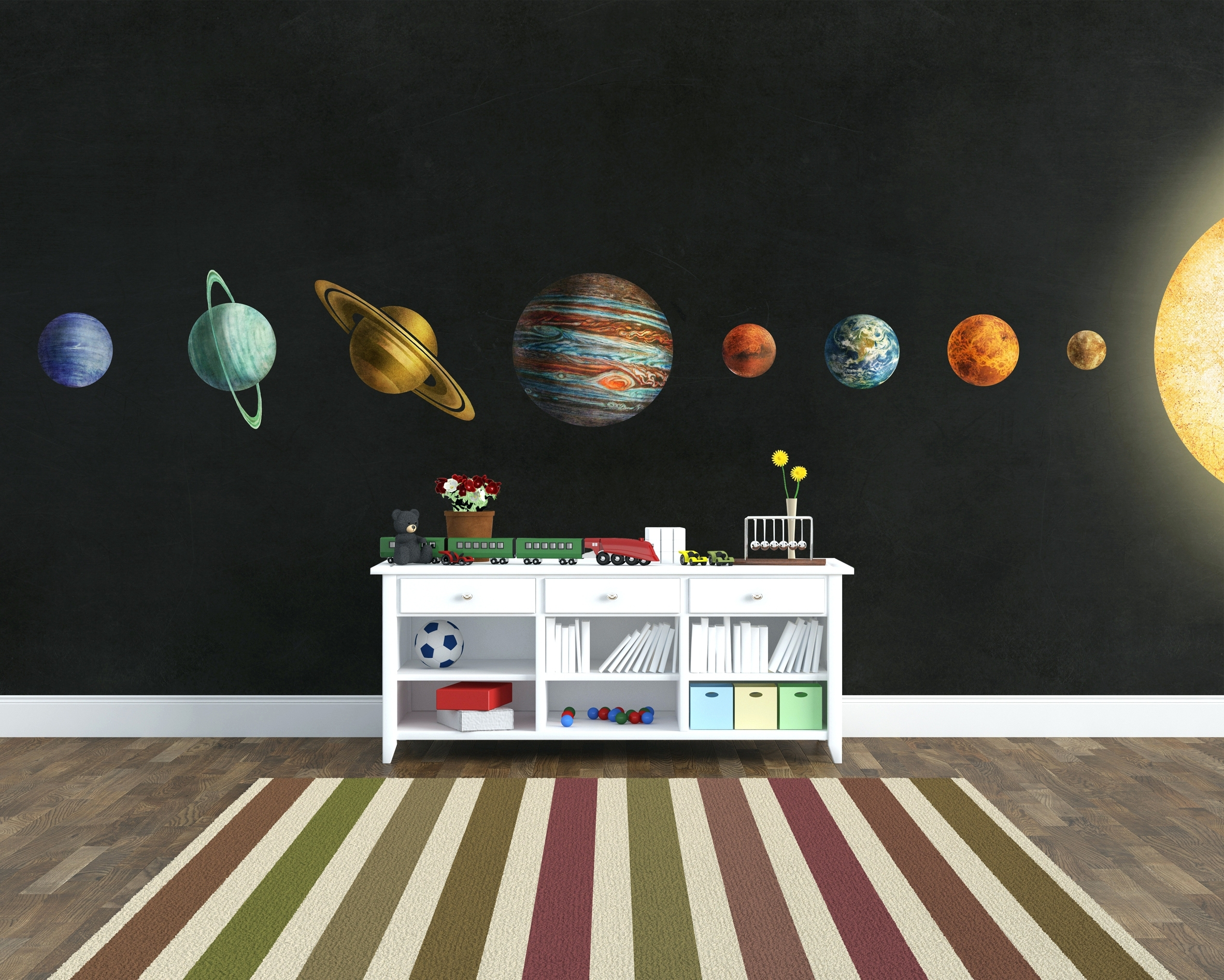 Wall Arts: Solar System Wall Art (View 13 of 15)