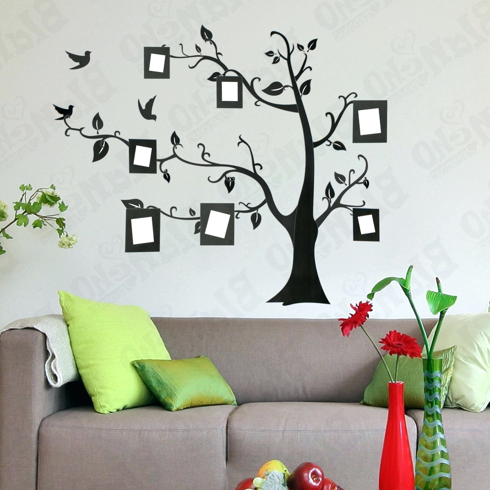 Wall Arts ~ Wall Art Deco Stickers Memory Tree Large Wall Decals Pertaining To Well Known Art Deco Wall Decals (View 14 of 15)