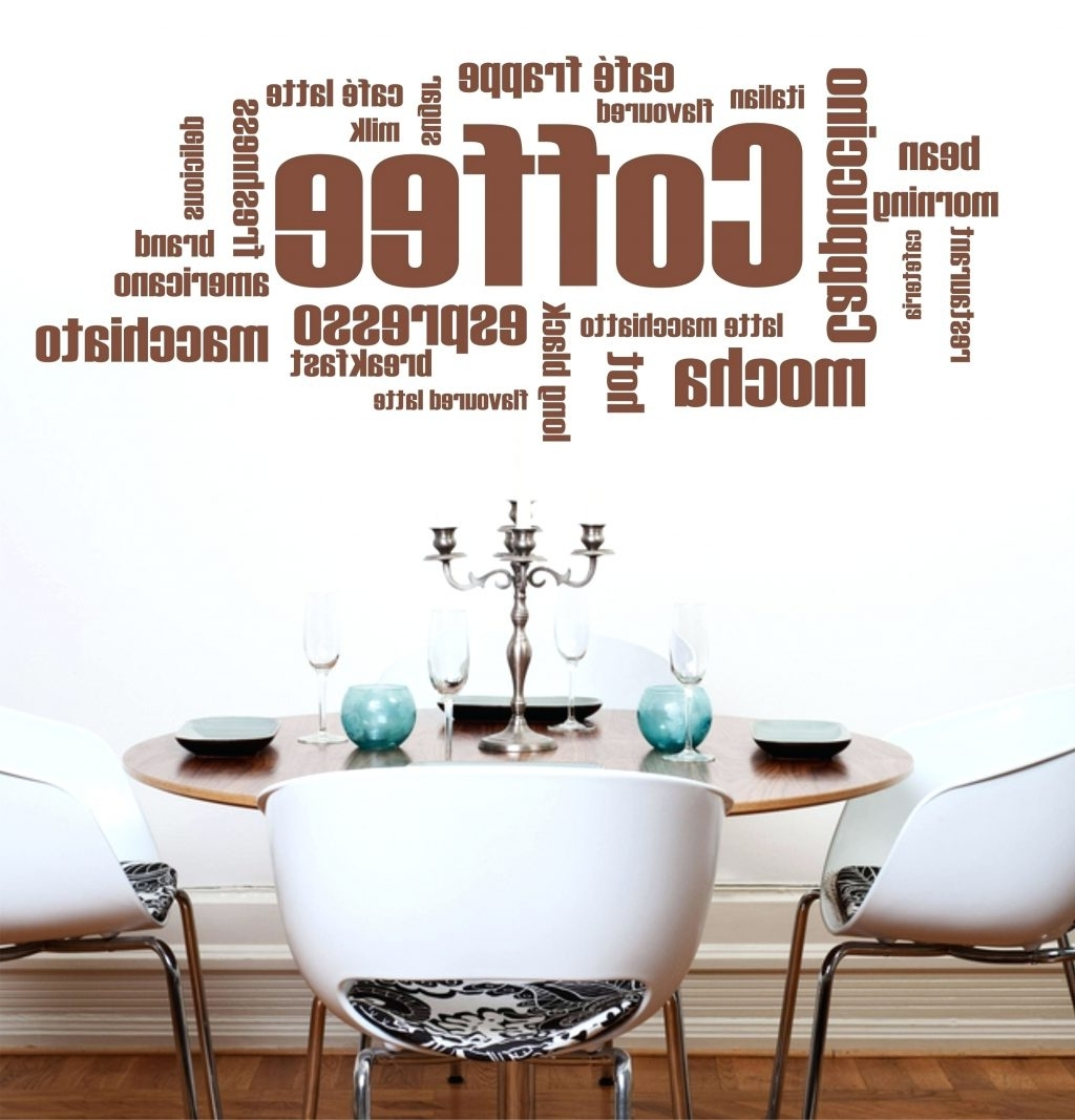 Wall Arts ~ Wall Art Designs Coffee Wall Art Coffe Word Wall Art With Regard To Most Recent Italian Wall Art Quotes (View 12 of 15)