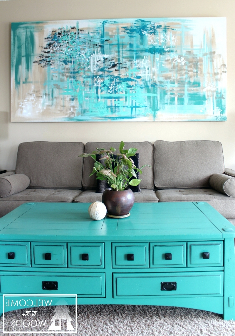 Wall Arts ~ Wall Art Teal Colour Cheap Teal Metal Wall Art With Most Recent Wall Art Teal Colour (View 14 of 15)