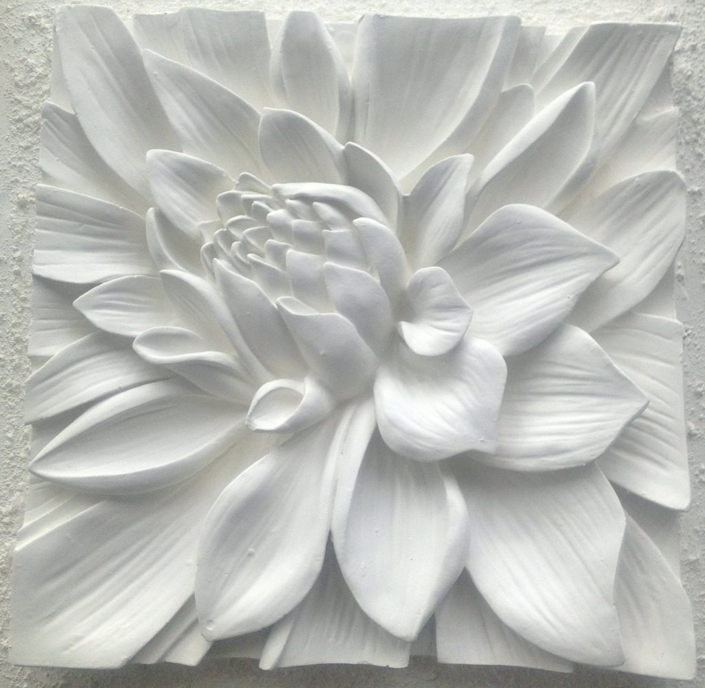 Wall Arts ~ Wall Art White Excellent Black White Flower Wall Art D In Well Known Ceramic Flower Wall Art (View 13 of 15)