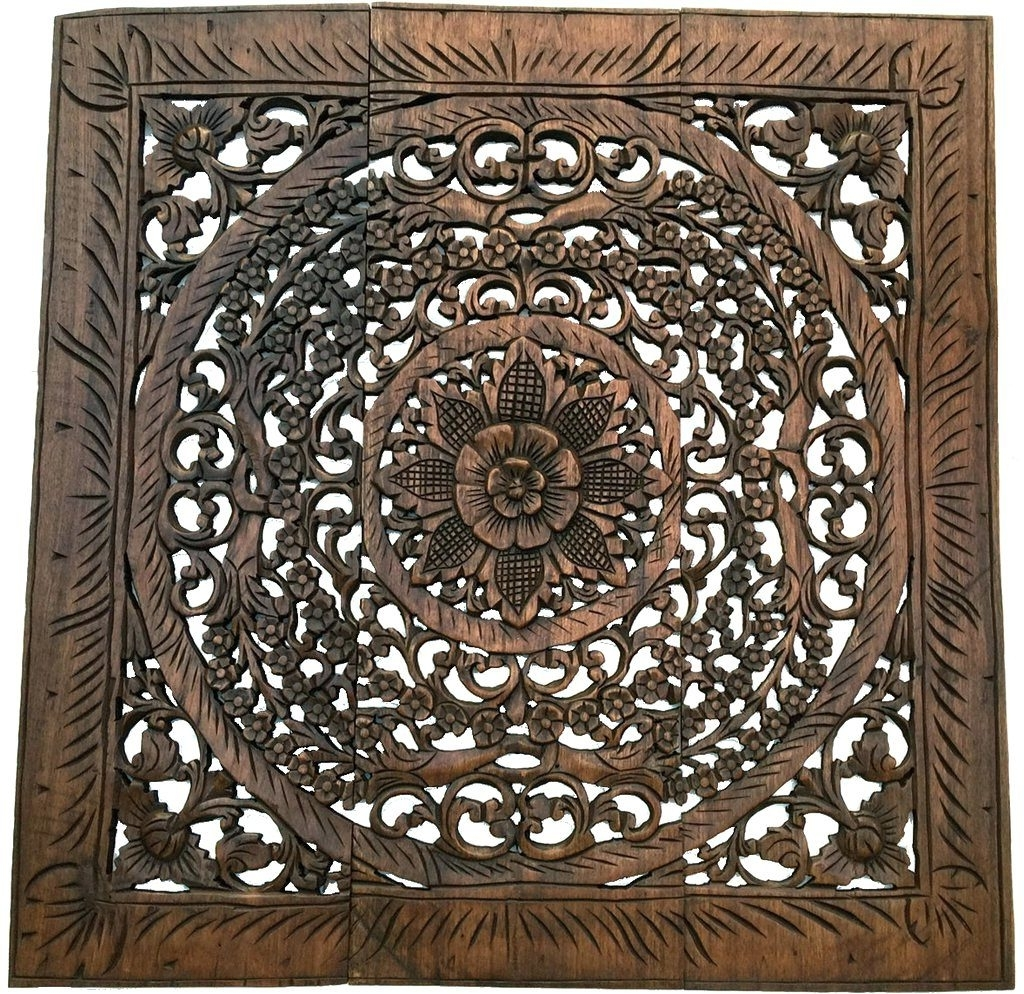 Wall Arts ~ White Medallion Wall Art White Metal Medallion Wall For Trendy Balinese Wall Art (View 13 of 15)