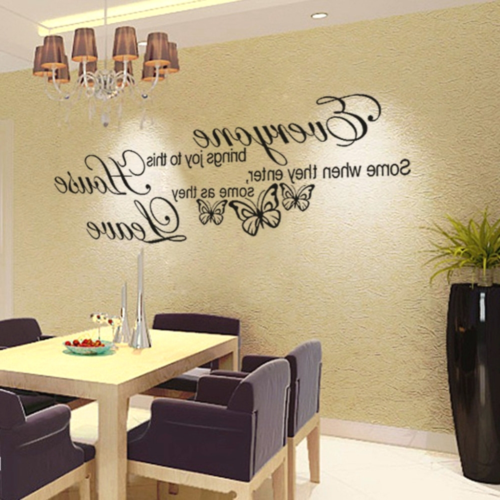 Showing Photos of Metal Wall Art Quotes (View 11 of 15 Photos)