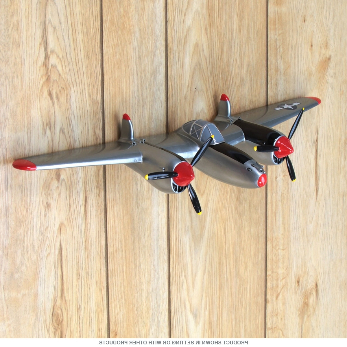 2019 Latest Metal Airplane Wall Art