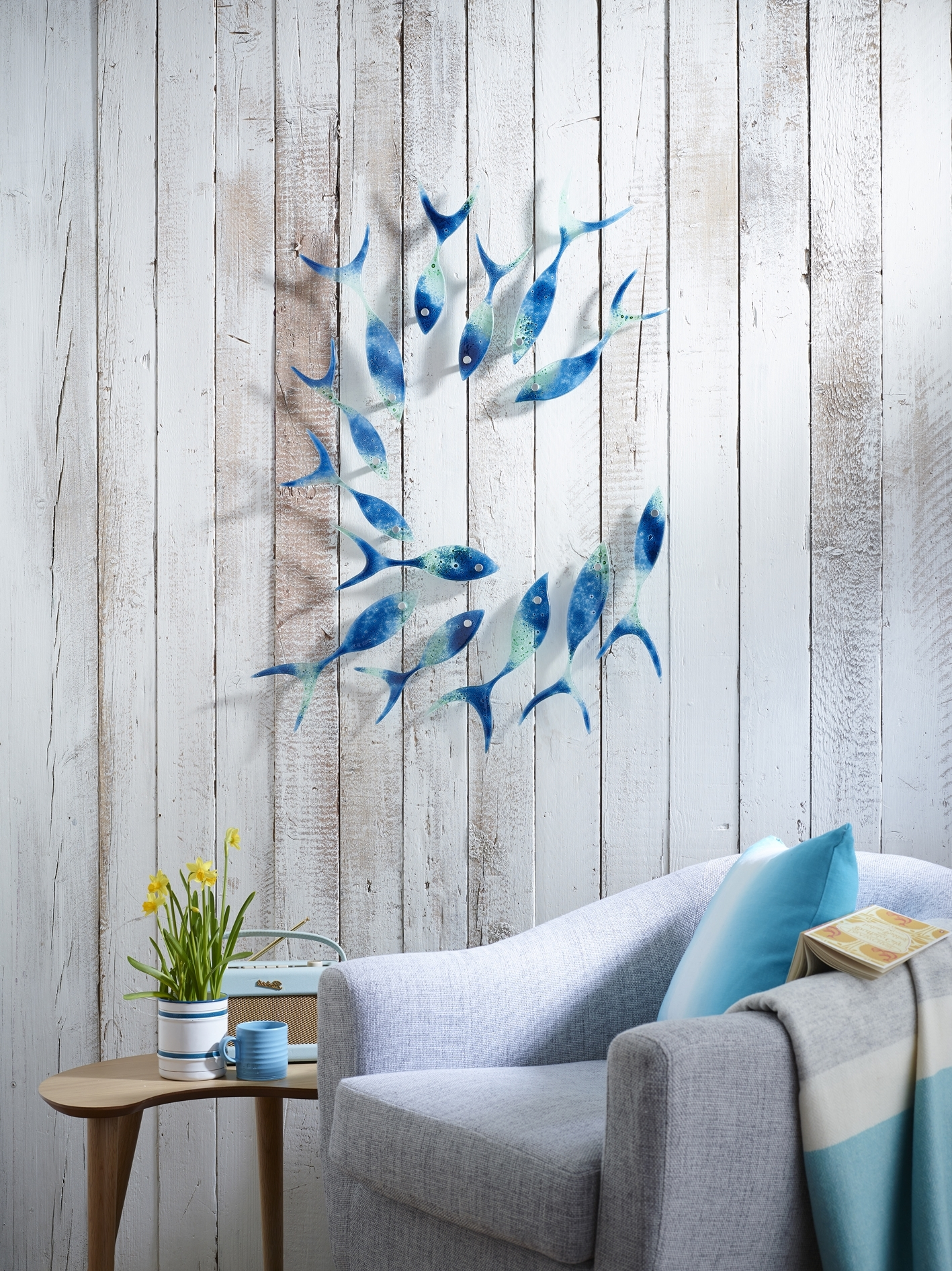 Wall Hangings, Fish And Glass Throughout Preferred Fused Glass Wall Art Manchester (View 13 of 15)