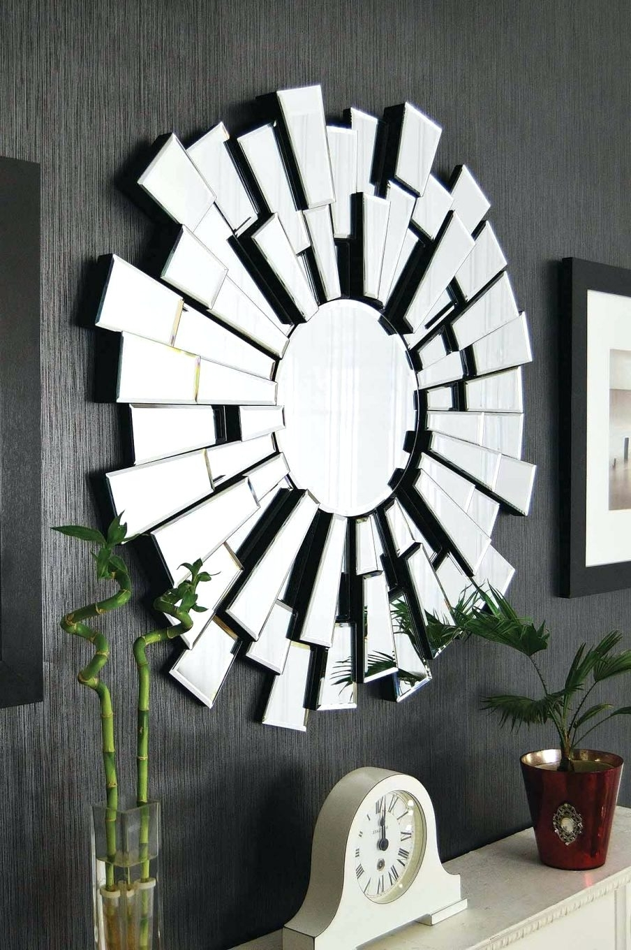 Wall Mirrors ~ Wall Art Mirrors Contemporary Wall Mirrors For Newest Wall Art Mirrors Contemporary (View 13 of 15)