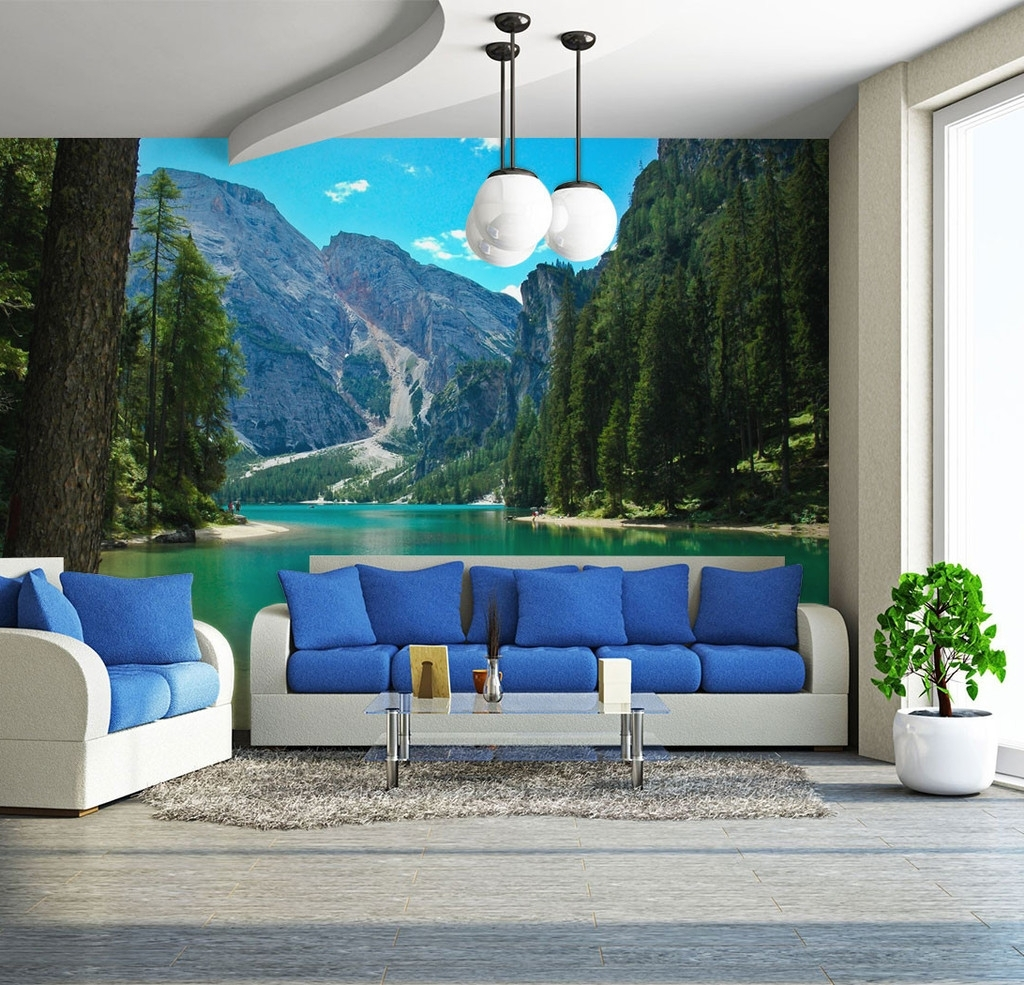 Wall Murals, Lakes And Walls With Regard To Italian Scenery Wall Art (View 15 of 15)