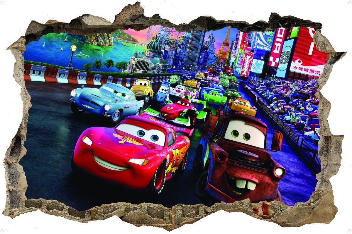 Wall Stickers For Widely Used Cars 3D Wall Art (View 14 of 15)