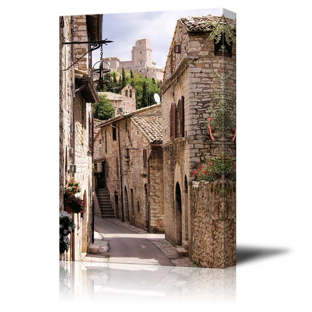 Wall26 – Art Prints – Framed Art – Canvas Prints – Greeting With Regard To Fashionable Italian Village Wall Art (View 11 of 15)