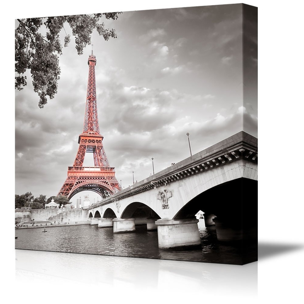 Wall26 – Art Prints – Framed Art – Canvas Prints – Greeting With Regard To Favorite Eiffel Tower Wall Hanging Art (View 15 of 15)