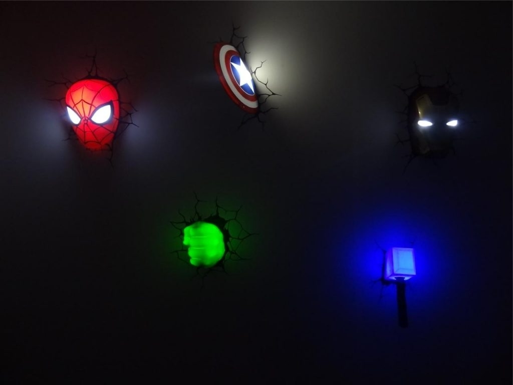 Wallartideas With Regard To 3D Wall Art Nightlight (View 14 of 15)